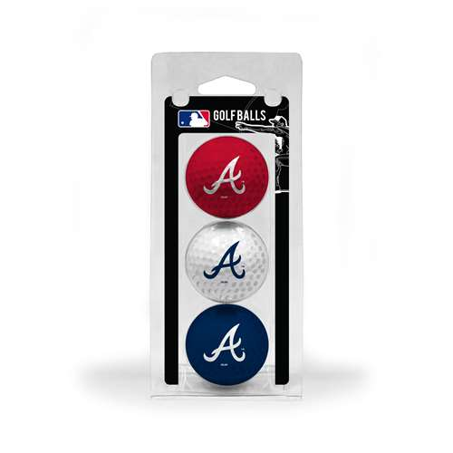 Atlanta Braves Golf 3 Ball Pack 95105