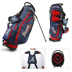 Atlanta Braves Golf Fairway Stand Bag
