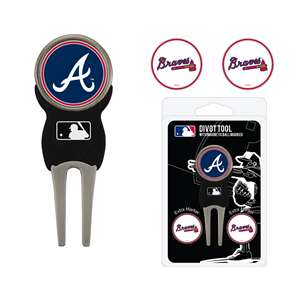Atlanta Braves Golf Signature Divot Tool Pack