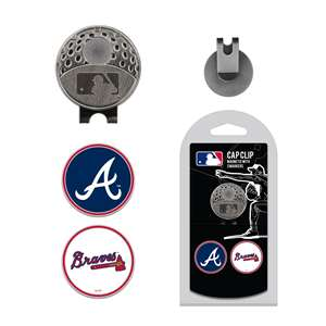 Atlanta Braves Golf Cap Clip Pack 95147