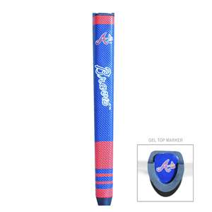 Atlanta Braves Golf Putter Grip