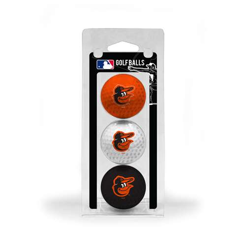 Baltimore Orioles Golf 3 Ball Pack 95205