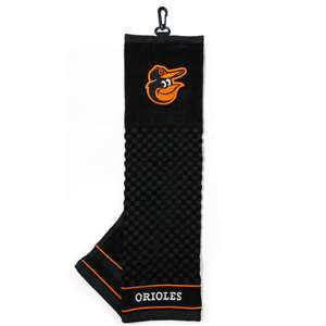 Baltimore Orioles Golf Embroidered Towel