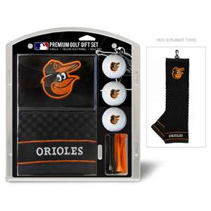 Baltimore Orioles Golf Embroidered Towel Gift Set 95220