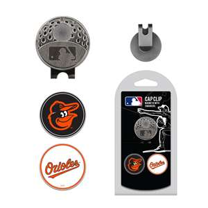 Baltimore Orioles Golf Cap Clip Pack 95247