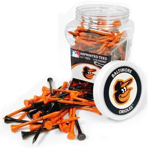 BALTIMORE ORIOLES Golf Tee - 175 Count Jar of Tees