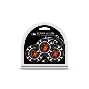 Baltimore Orioles Golf 3 Pack Golf Chip