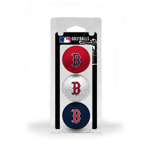Boston Red Sox Golf 3 Ball Pack