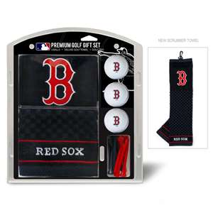 Boston Red Sox Golf Embroidered Towel Gift Set 95320