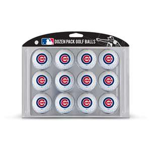Chicago Cubs Golf Dozen Ball Pack