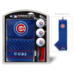 Chicago Cubs Golf Embroidered Towel Gift Set