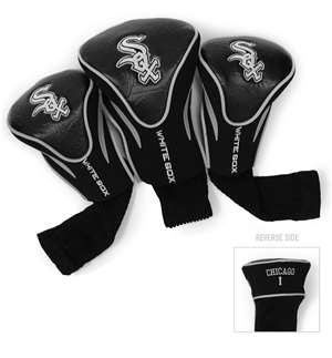 Chicago White Sox Golf 3 Pack Contour Headcover