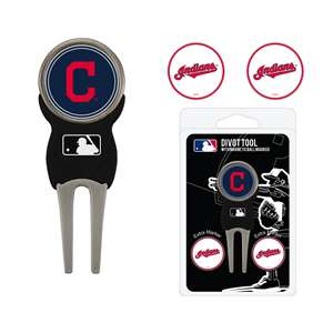 Cleveland Indians Golf Signature Divot Tool Pack