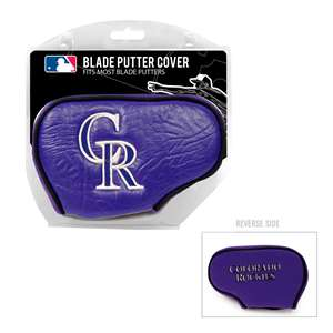 Colorado Rockies Golf Blade Putter Cover