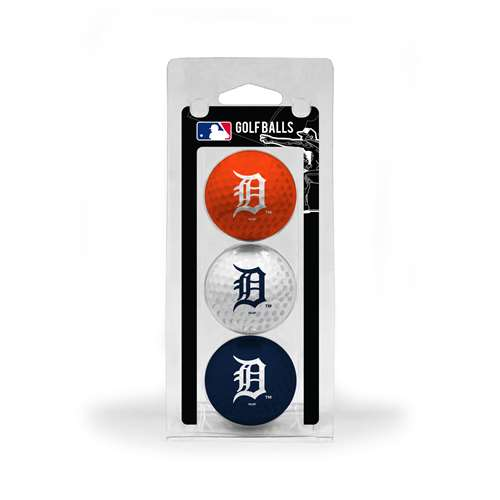 Detroit Tigers Golf 3 Ball Pack