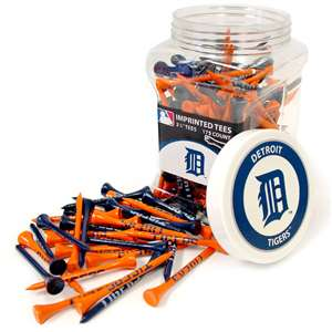 DETROIT TIGERS Golf Tee - 175 Count Jar of Tees