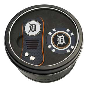 Detroit Tigers Golf Tin Set - Switchblade, Golf Chip