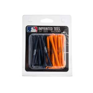 Detroit Tigers Golf 50 Tee Pack