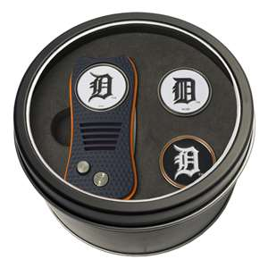 Detroit Tigers Golf Tin Set - Switchblade, 2 Markers