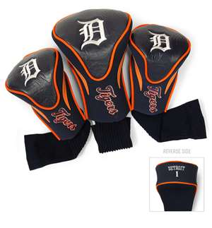 DETROIT TIGERS Golf Club Headcover Contour 3 Pack