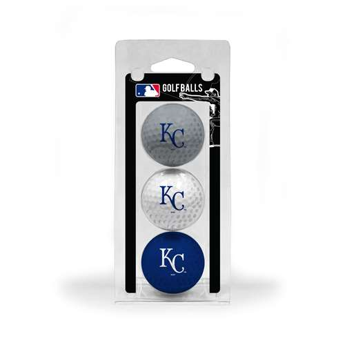 Kansas City Royals Golf 3 Ball Pack