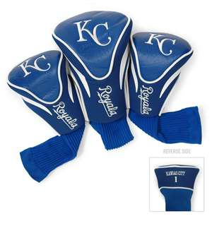 Kansas City Royals Golf 3 Pack Contour Headcover