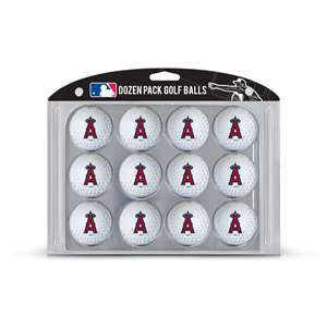Los Angeles Angels Golf Dozen Ball Pack