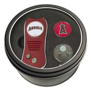 Los Angeles Angels Golf Tin Set - Switchblade, Cap Clip, Marker 96257