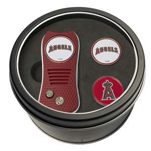 Los Angeles Angels Golf Tin Set - Switchblade, 2 Markers 96259