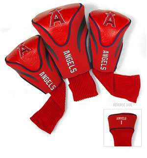 LOS ANGELES ANGELS Golf Club Headcover Contour 3 Pack
