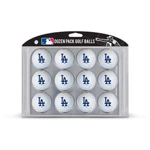 Los Angeles Dodgers Golf Dozen Ball Pack