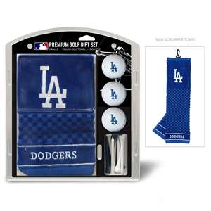Los Angeles Dodgers Golf Embroidered Towel Gift Set