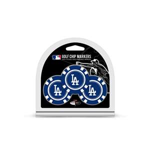 Los Angeles Dodgers Golf 3 Pack Golf Chip