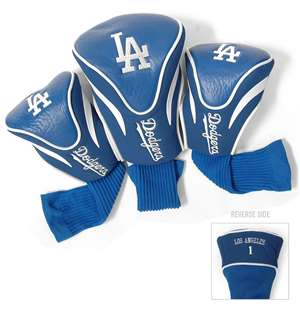Los Angeles Dodgers Golf 3 Pack Contour Headcover