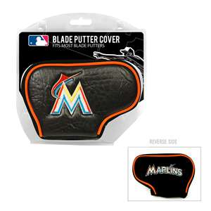 Miami Marlins Golf Blade Putter Cover