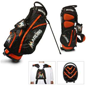 Miami Marlins Golf Fairway Stand Bag 96428