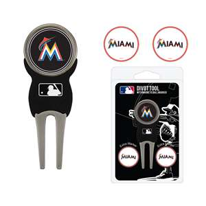 Miami Marlins Golf Signature Divot Tool Pack  96445