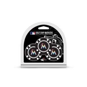 Miami Marlins Golf 3 Pack Golf Chip