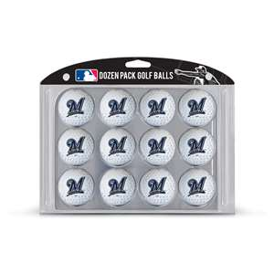 Milwaukee Brewers Golf Dozen Ball Pack