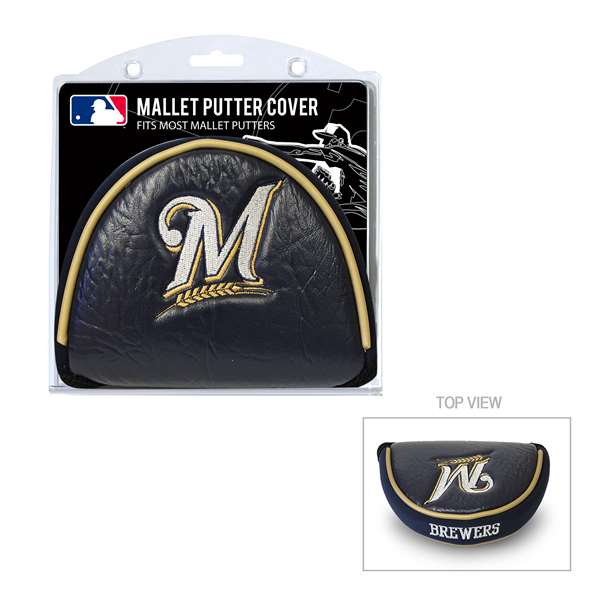 Milwaukee Brewers Golf Mallet Putter Cover