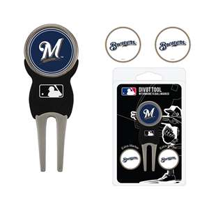 Milwaukee Brewers Golf Signature Divot Tool Pack