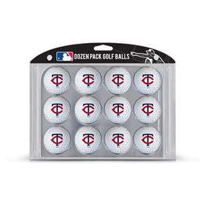 Minnesota Twins Golf Dozen Ball Pack 96603