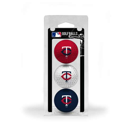 Minnesota Twins Golf 3 Ball Pack 96605