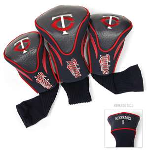 Minnesota Twins Golf 3 Pack Contour Headcover
