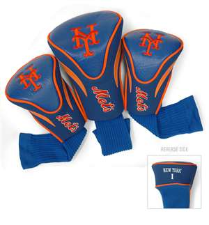 NEW YORK METS Golf Club Headcover Contour 3 Pack