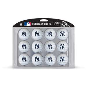 New York Yankees Golf Dozen Ball Pack