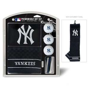 New York Yankees Golf Embroidered Towel Gift Set