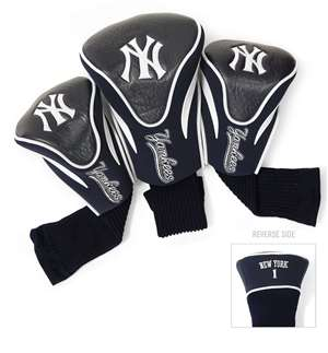 New York Yankees Golf 3 Pack Contour Headcover