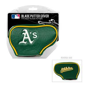 Oakland Athletics A's Golf Blade Putter Cover