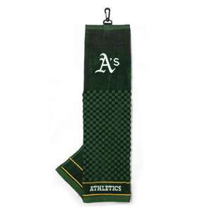 OAKLAND ATHLETICS Golf Towel - Ball Club & Bag Towels
